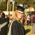 Georgina Wilson graduation photo