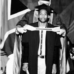 Thabiso Mathopa graduation photo